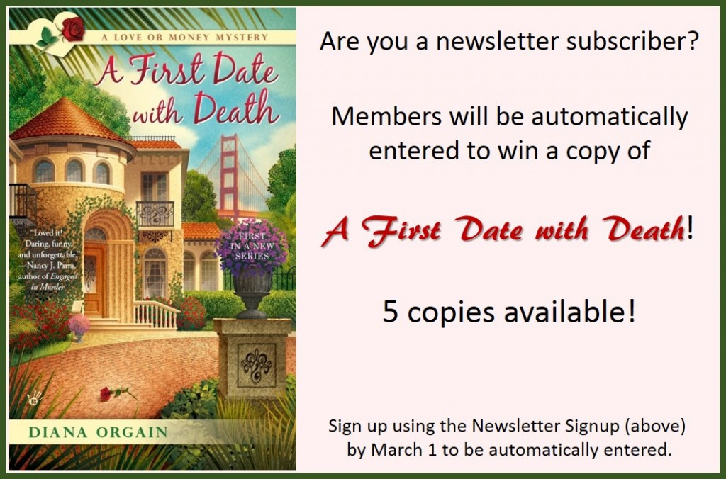 A Date with Death Giveaway graphic
